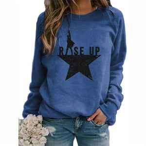 Women Long Sleeve Top Autumn Sweatshirt