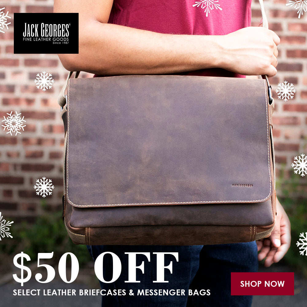 """$35 off"" select Messengers, Briefcases & Totes"
