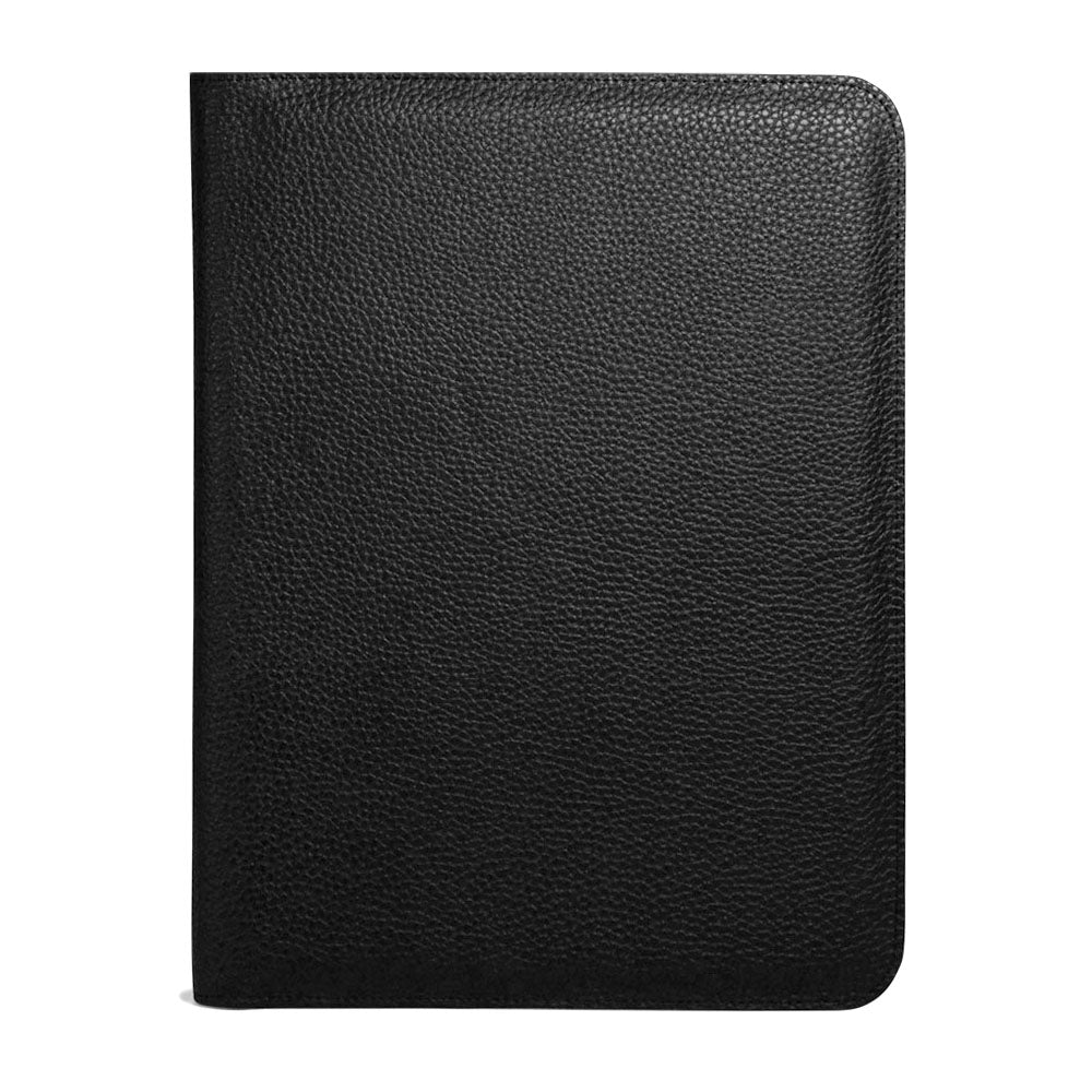 Jack Georges SOHO Letter-Size Writing Pad Cover #1411 Black Open
