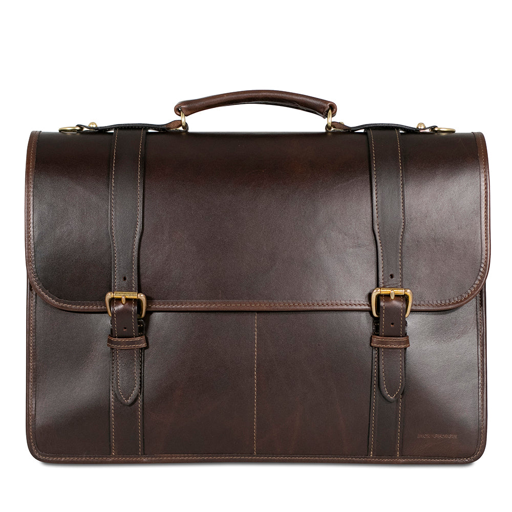 University Executive Leather Briefcase #2499