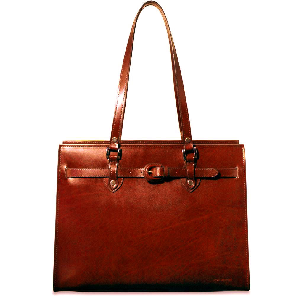Milano Alexis Business Tote #3886 Cherry Front Face