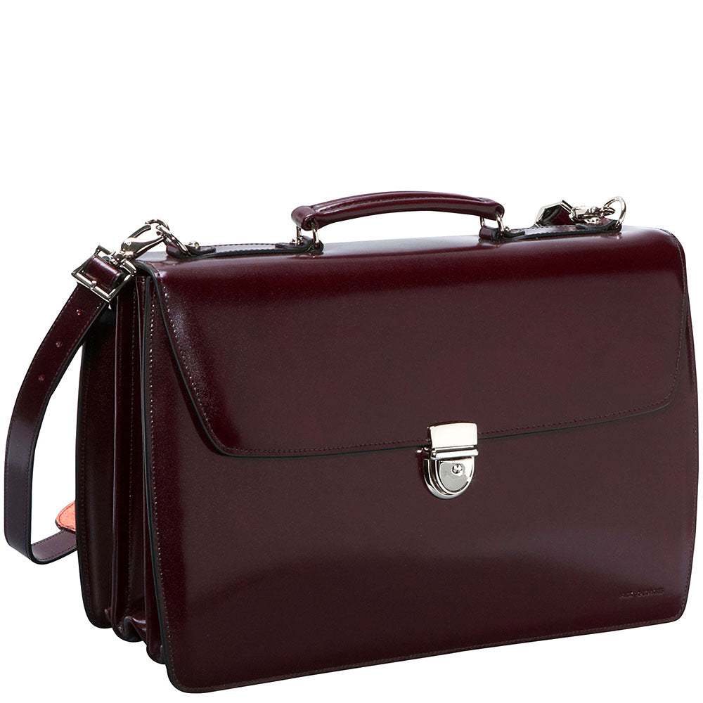 Elements Executive Leather Briefcase #4403