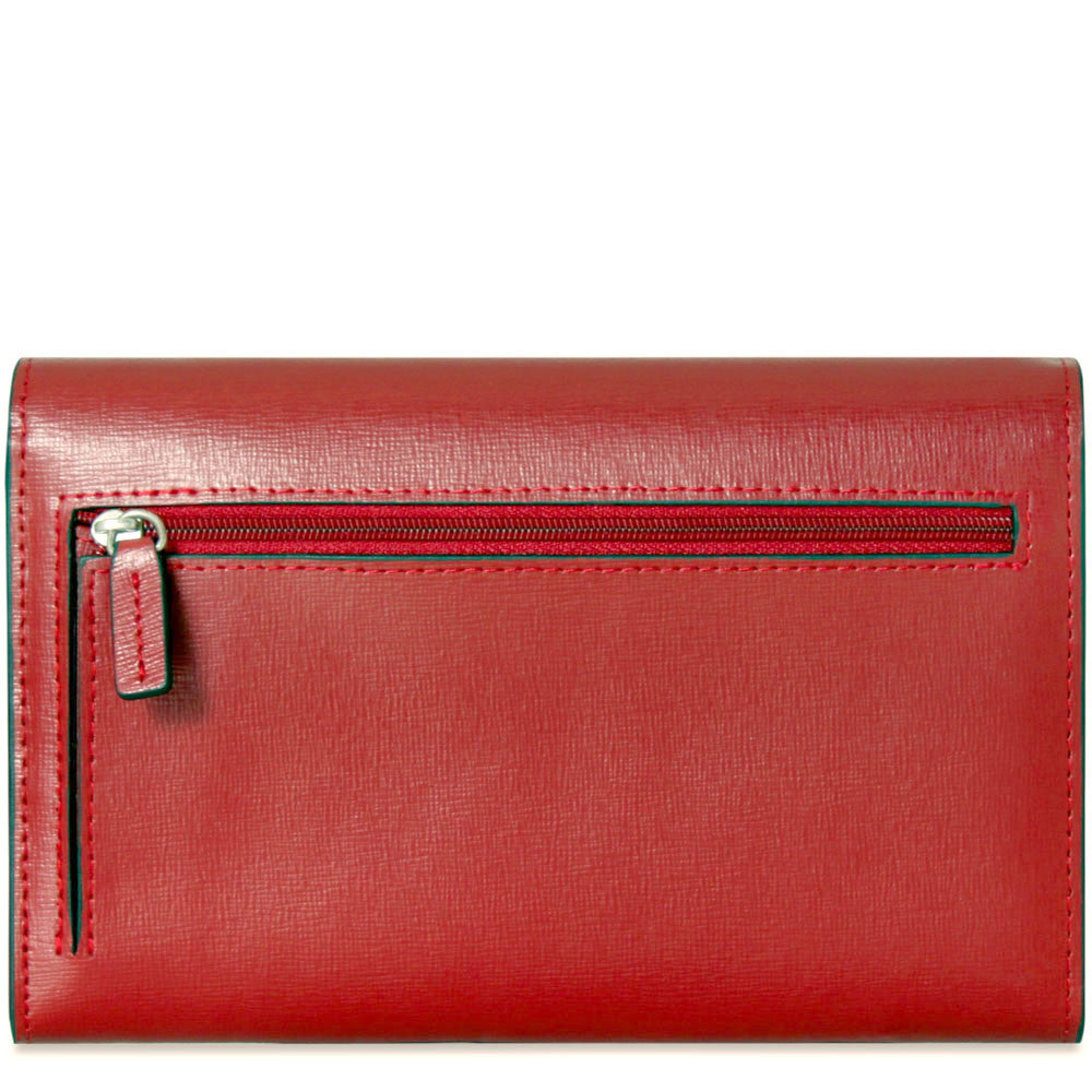 Chelsea Clutch Bag #5678 Red Front Face