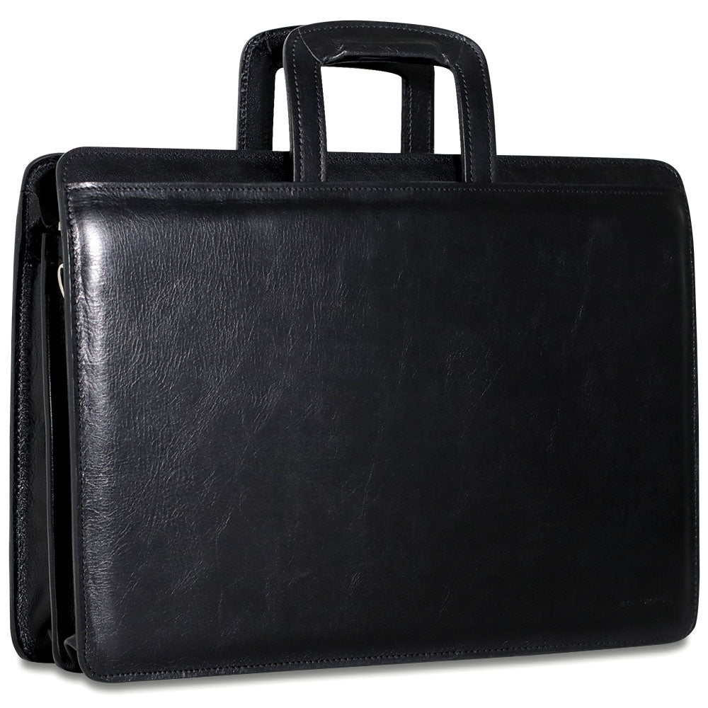 Sienna Slim Leather Briefcase #7222