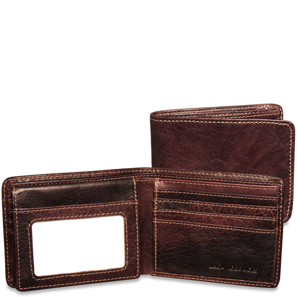 Voyager Bifold Wallet with ID Flap #7302