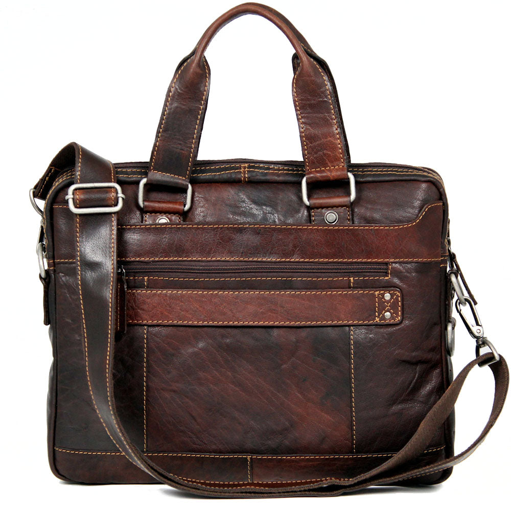 Voyager Slim Zippered Briefcase #7320