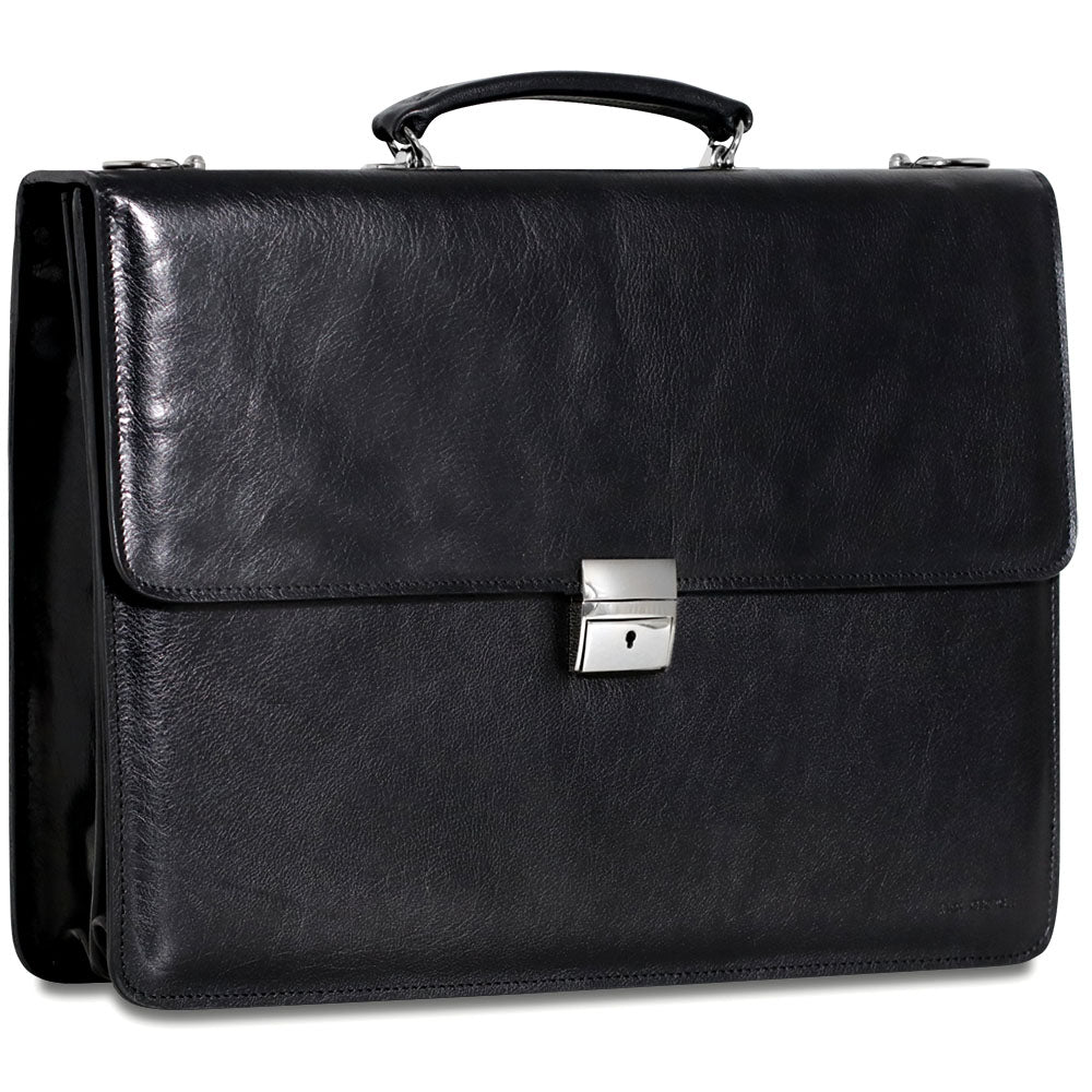 Sienna Slim Leather Briefcase #7422