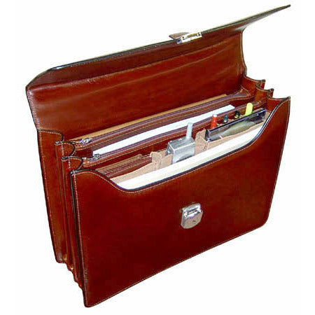 Sienna Executive Leather Briefcase #7423