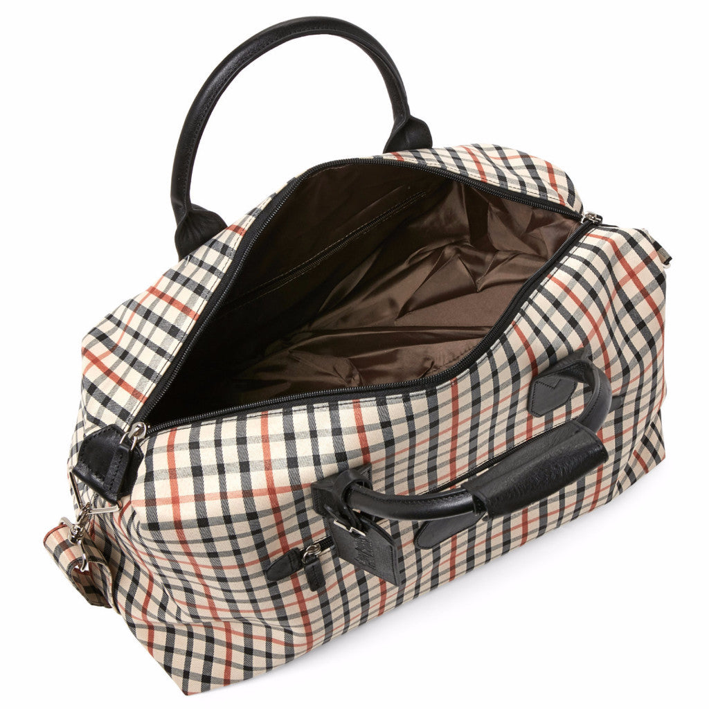 "Windsor Collection #W4720 19"" Duffel/Cabin Bag with Inside & Outside Zippered Pockets"
