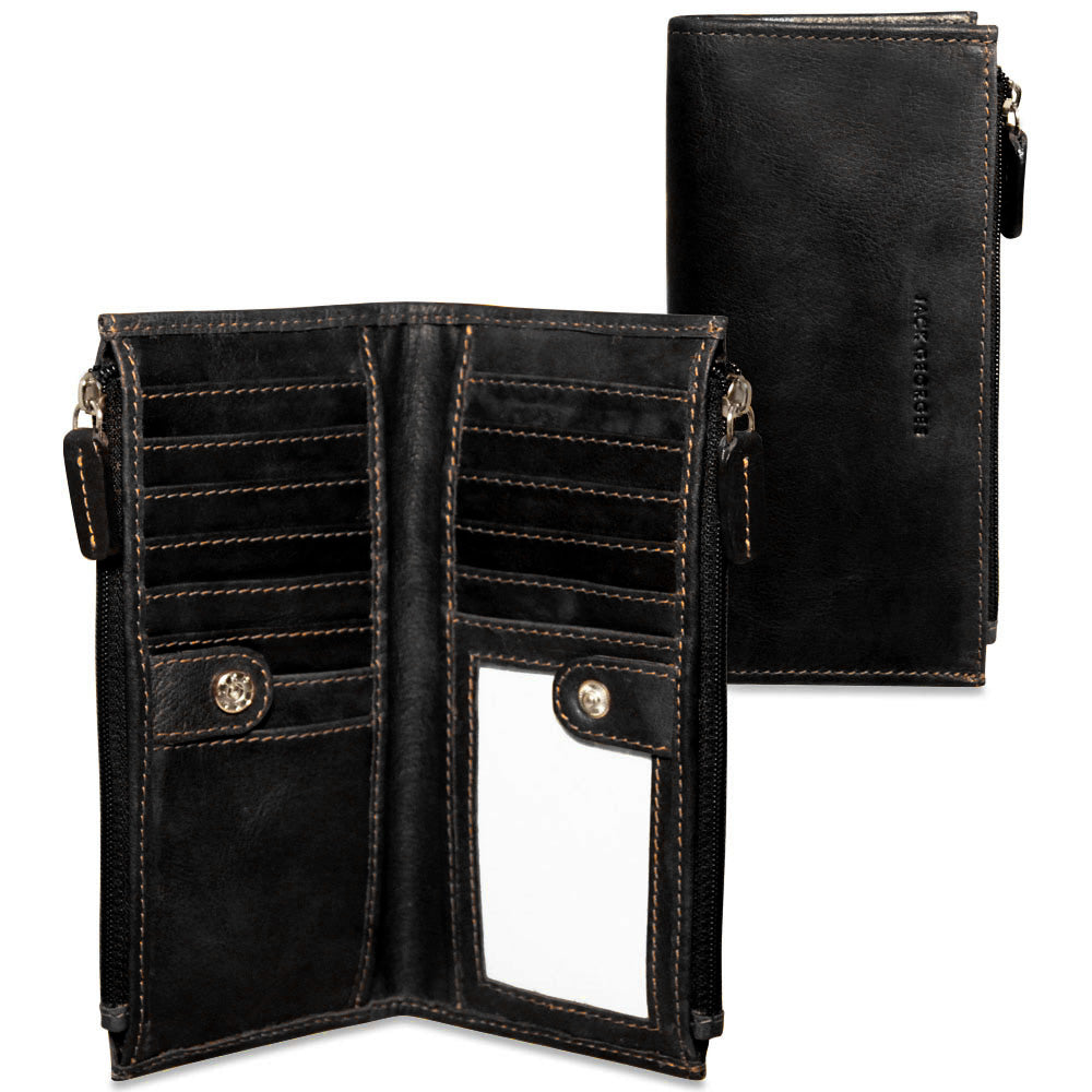Voyager Slim Zippered Wallet #7717