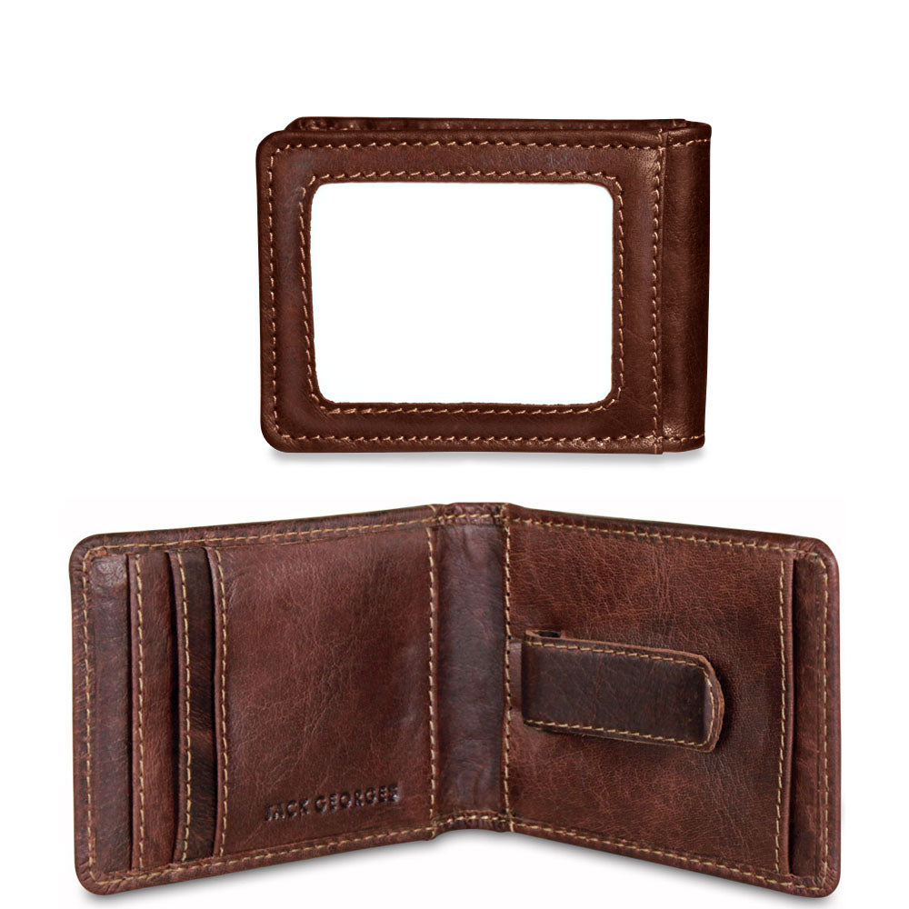 Voyager Bi-Fold Wallet w/Money Clip #7748