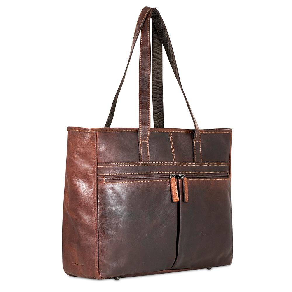 8f3f197f2a2e3 Leather Tote Bags - Jack Georges