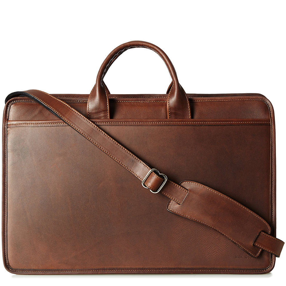 140909d752 Platinum Special Edition Professional Leather Briefcase #8202 $358.00