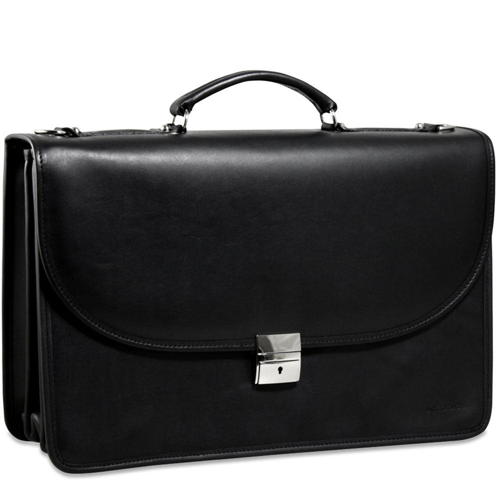 Platinum Special Edition Executive Leather Briefcase #8417