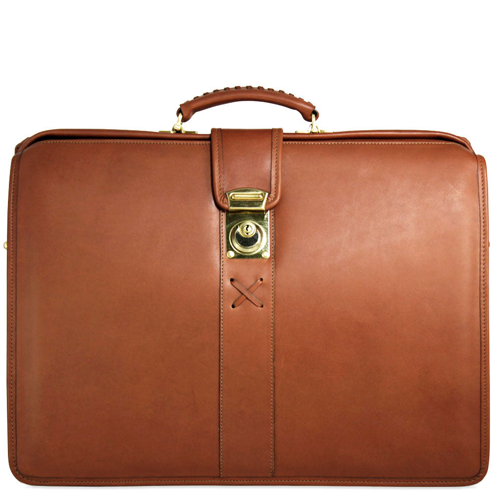 Belmont Classic Leather Briefbag #B2005