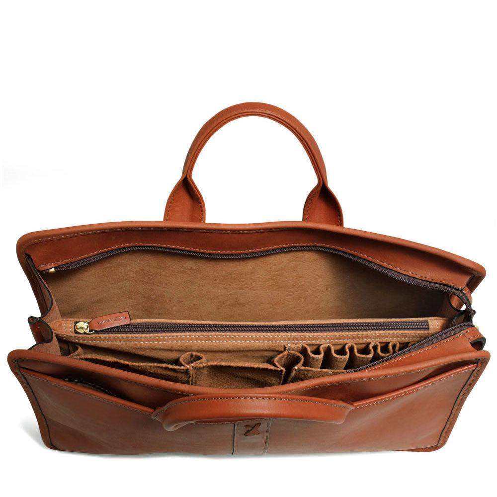 Belmont Professional Leather Briefcase #B2202