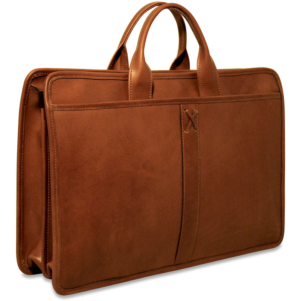 fafdc9992 Belmont Professional Leather Briefcase #B2202 - Jack Georges