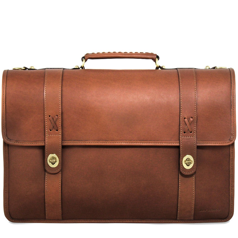 Belmont Professional Leather Briefcase #B2462