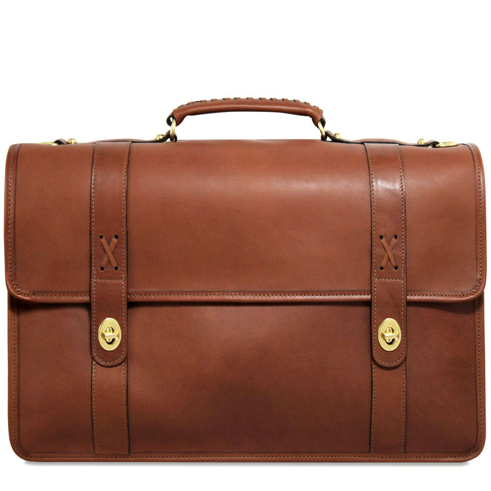 Belmont Executive Leather Briefcase #B2463