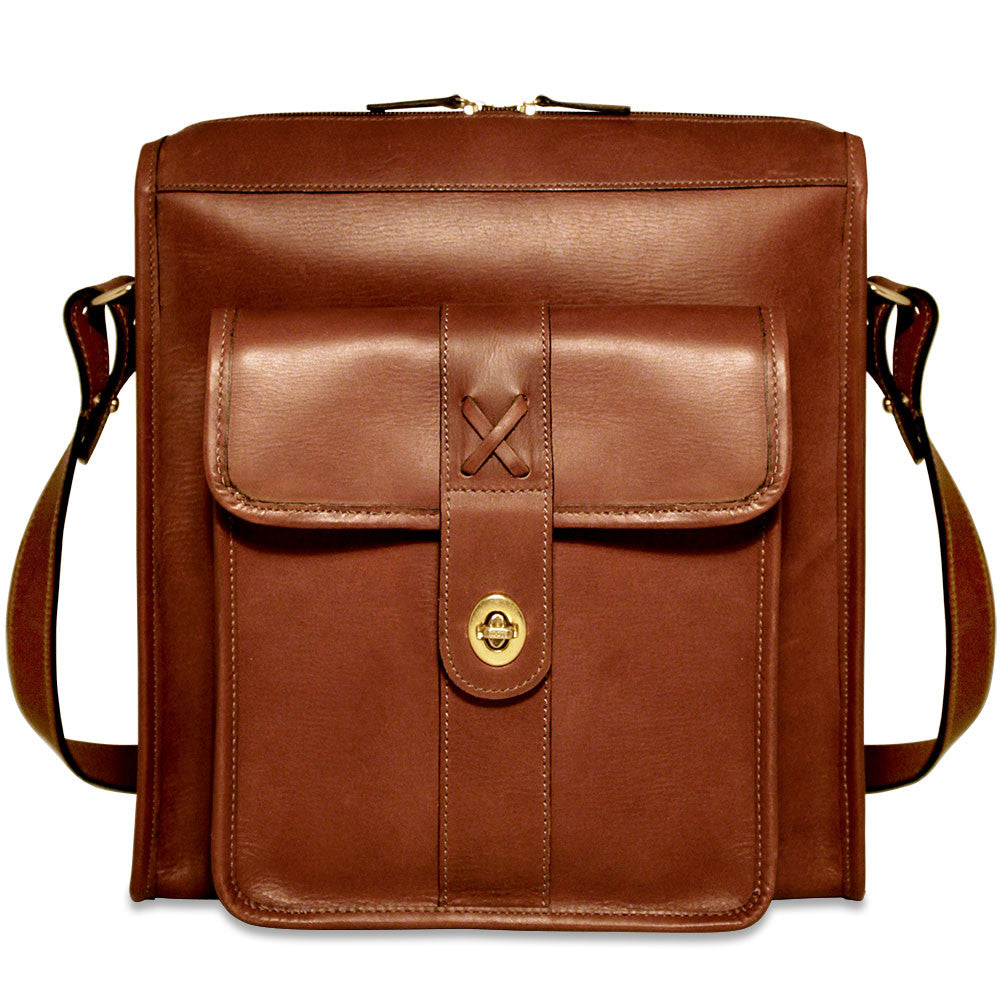 Belmont North/South Messenger Bag #B2524