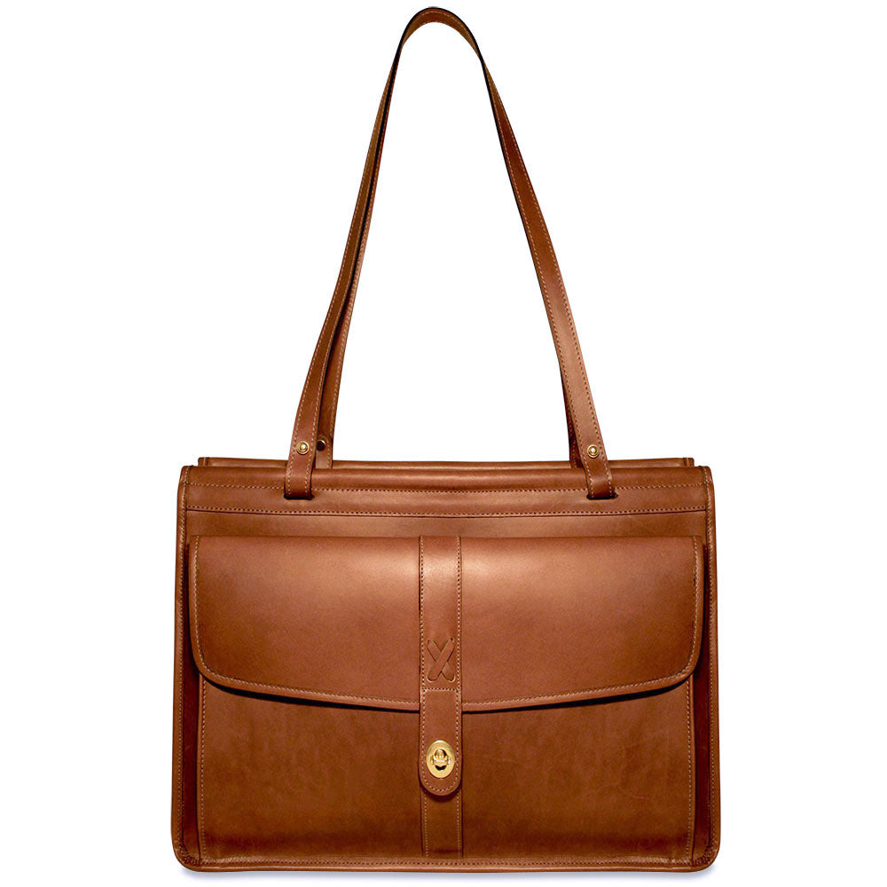 ecaf8f5219d7 Belmont Leather Dowel Tote Bag  B2965
