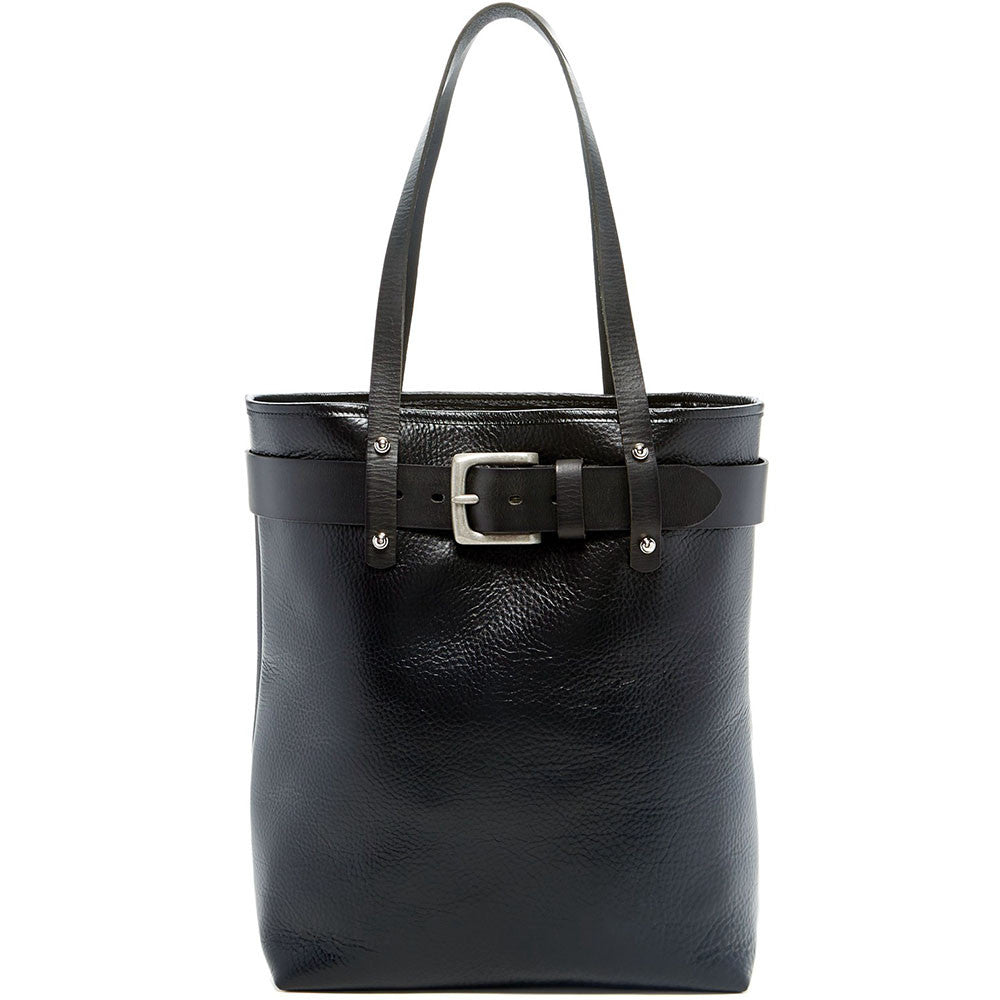 Belmont Open Leather Tote Bag #B2971