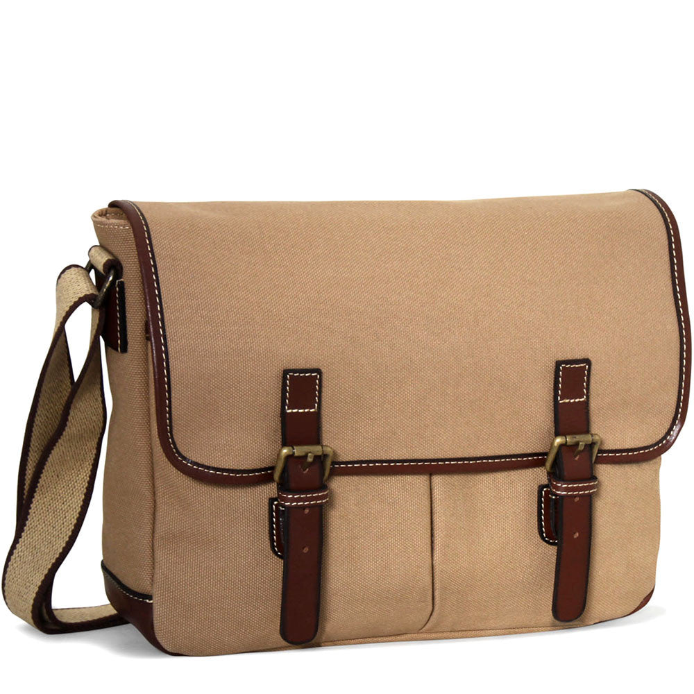 Canvas Messenger Bag #CV456