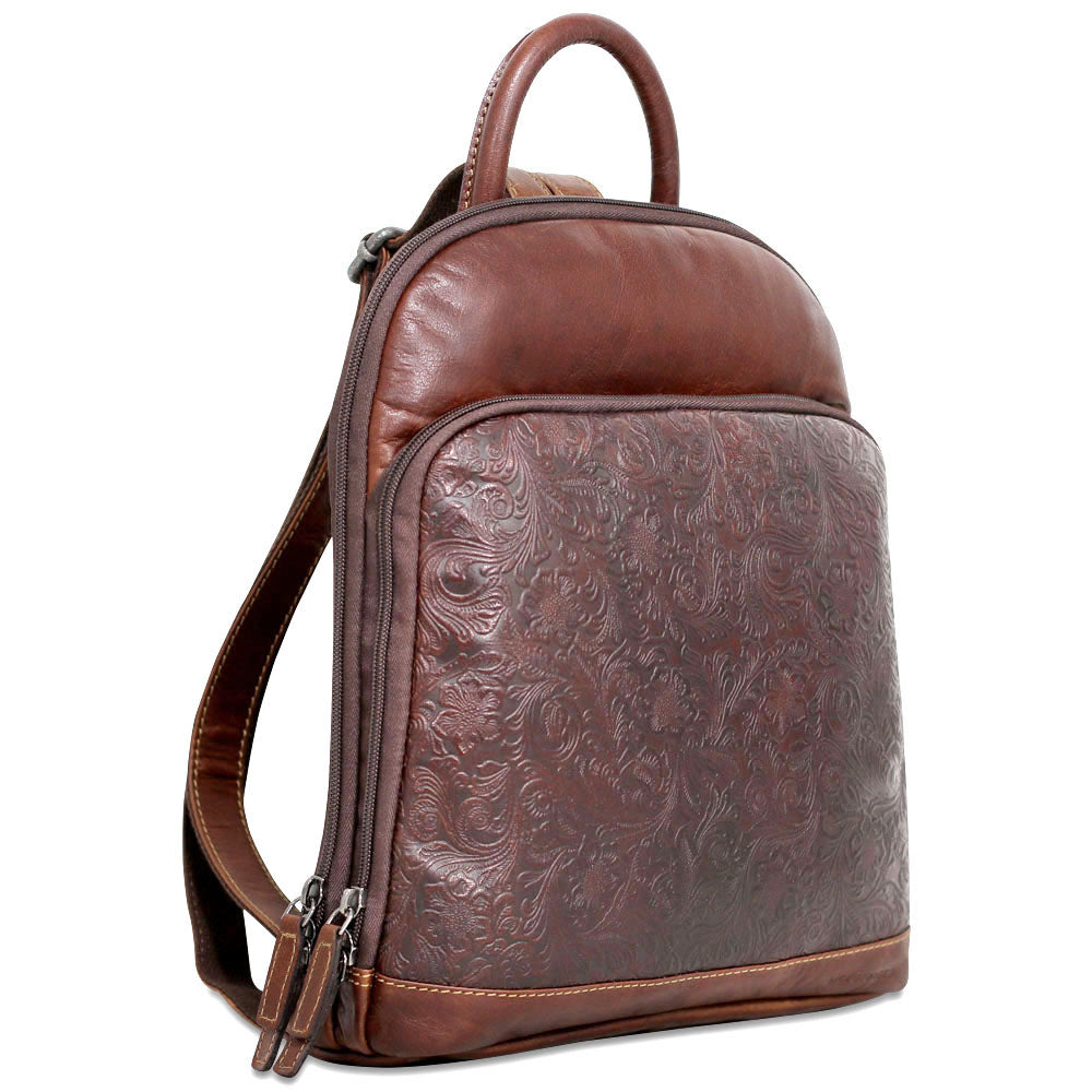 Voyager Floral Small Backpack  FL835 f08ba6746227d