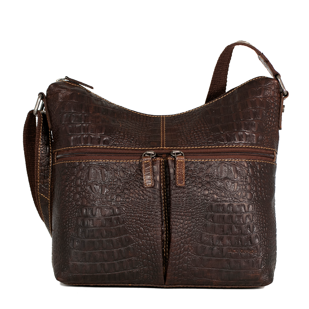 Hornback Croco Hobo Bag #HB814