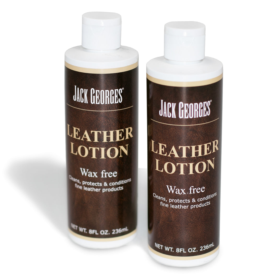 Jack Georges Leather Lotion (2 bottles)