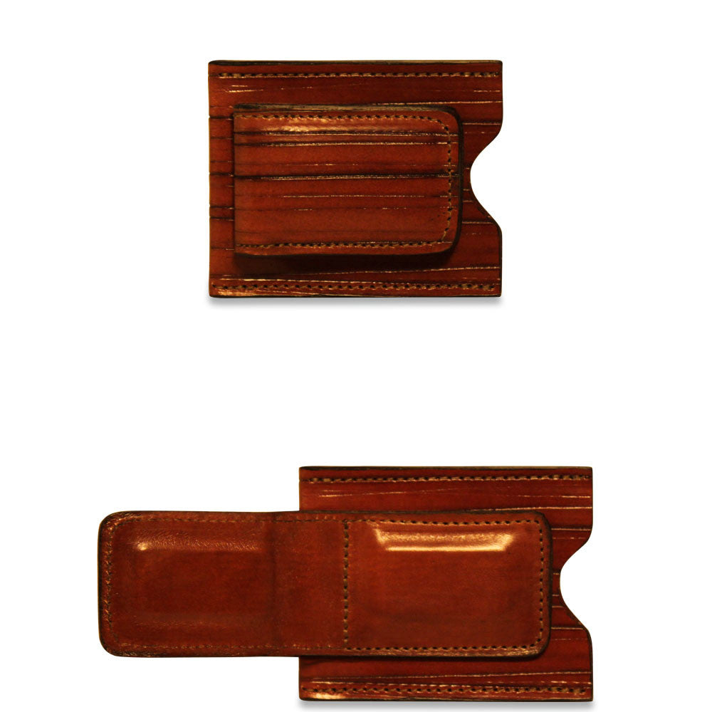 Monserrate Collection #MS710 Card Holder w/Money Clip