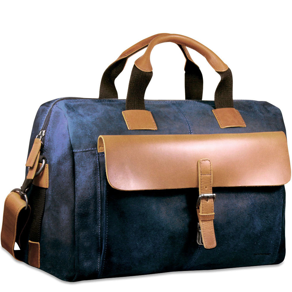 84ac0814e52f Dakota Over Nighter Day Bag  RS718 Blue Front Side ...