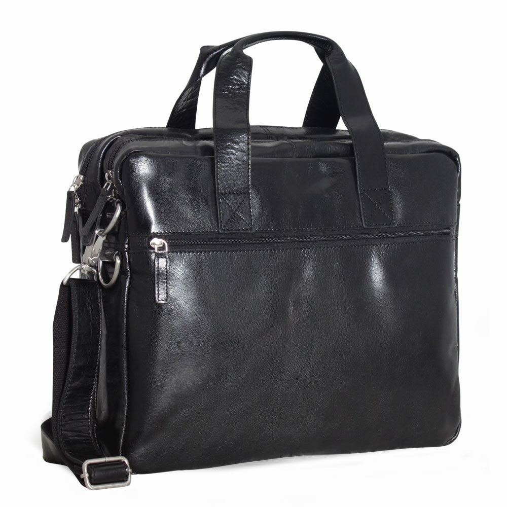 Tuscana Classico Large Double Gusset Briefcase #VT317