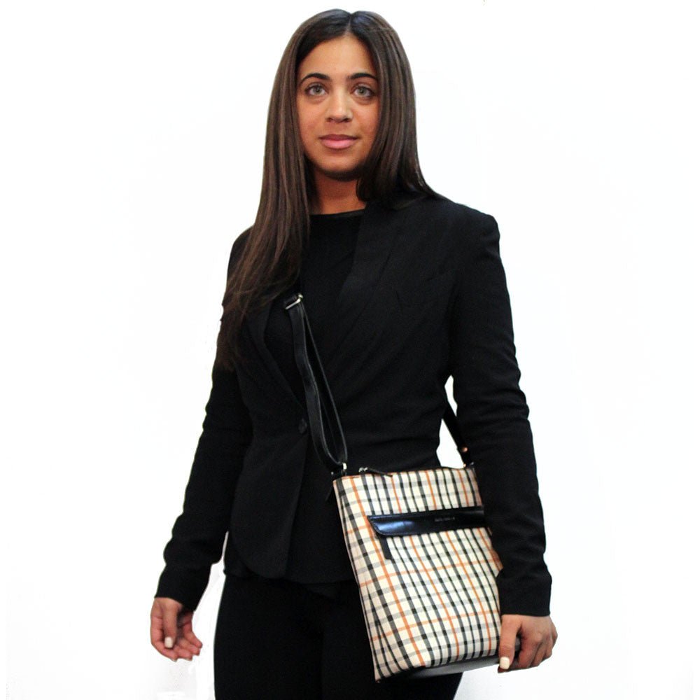 Windsor Top Zip Crossbody Bag #W4832