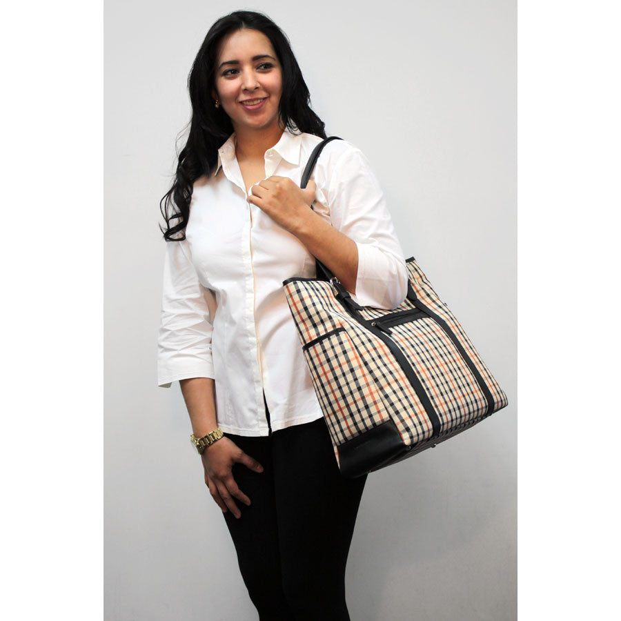 Windsor Collection #W4921 Large Satchel Tote