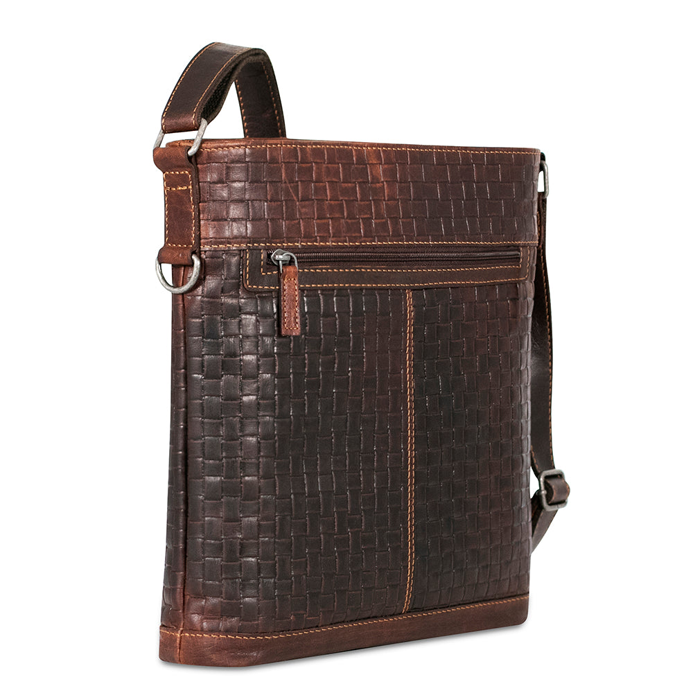 Voyager Woven Crossbody Bag #WF312