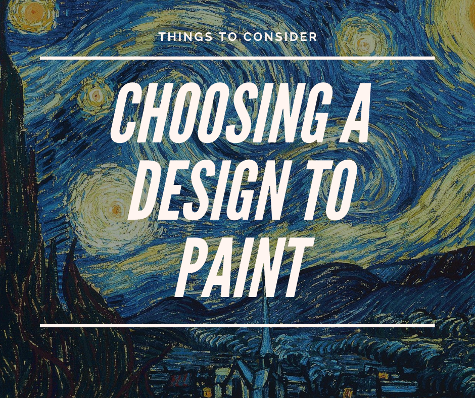 Things To Consider: Choosing A Paint By Numbers Design
