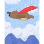 Super Bear Paint By Numbers Kit