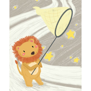 Star Catcher Lion Paint By Numbers Kit