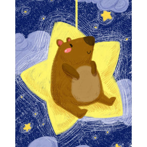 Star Bear Paint By Numbers Kit