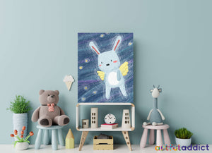 Angelic Rabbit Paint By Numbers Kit