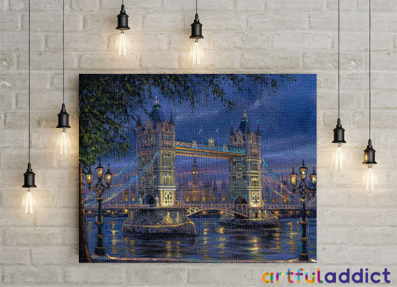 London Tower Bridge - Artful Addict Paint By Numbers Kits