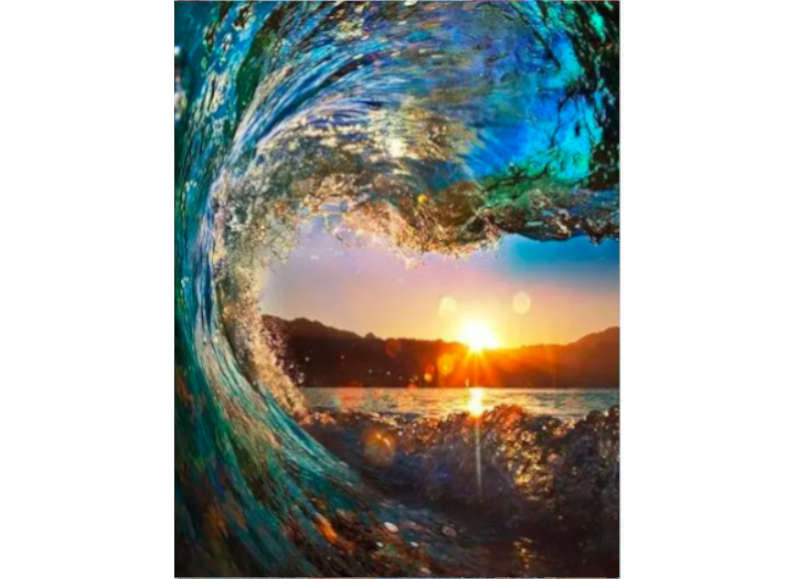 Ocean Wave - Artful Addict Paint By Numbers Kits