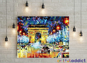 Paris At Night - Artful Addict Paint By Numbers Kits