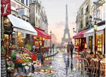 Paris City Streets - Artful Addict Paint By Numbers Kits