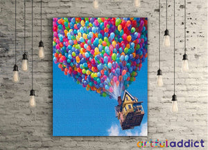 Up And Away - Artful Addict Paint By Numbers Kits