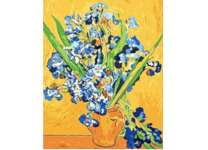 Van Gogh Vase With Irises - Artful Addict Paint By Numbers