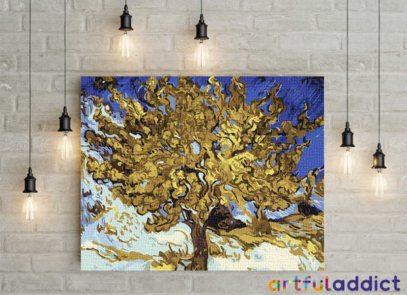 Van Gogh Mulberry Tree - Artful Addict Paint By Numbers Kits