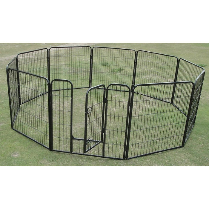 10 x 1200mm Tall Panel Pet Exercise Pen Enclosure