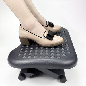 Footrest Under Desk Foot / Leg Rest for Office Chair Ergonomic Computer Plastic
